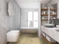TFD Floortile Klebevinyl Ossi 7260-2 Badezimmer