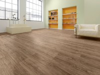 Vorschau: Vinylboden Design 555 Brown Cracked Oak