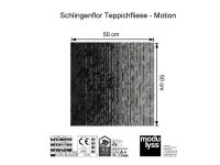 Modulyss Teppichfliese Motion 991