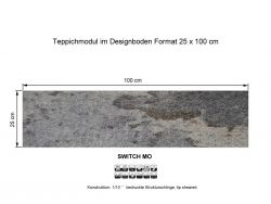 GIRLOON Teppichmodule SWITCH MO 530 selbsthaftend