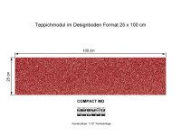 INFLOOR Teppichmodule COMPACT MO 143 selbsthaftend