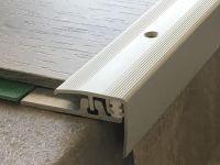 Treppenkantenprofil 351 silber