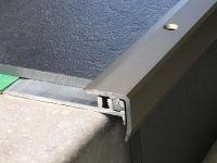 Treppenkantenprofil 331 Edelstahl matt