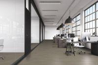 Vorschau: TFD Floortile Klebevinyl Woven L+ Ombre 403 Büro
