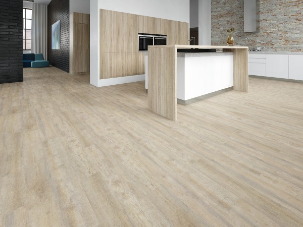 Klick-Vinylboden 330 White Limed Oak