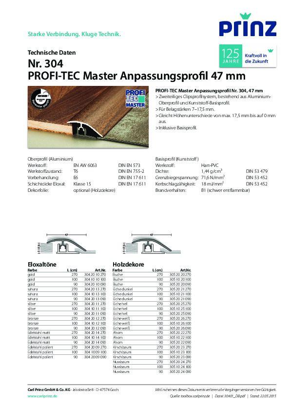 Technische Daten PDF 450 KB