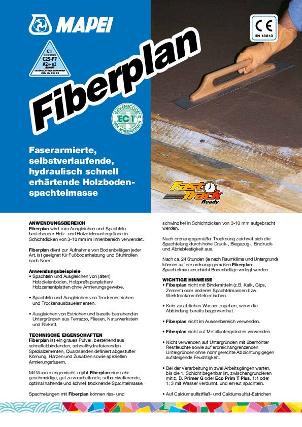 Mapei Fiberplan Datenblatt