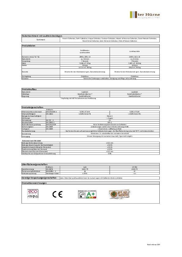 Datenblatt PDF