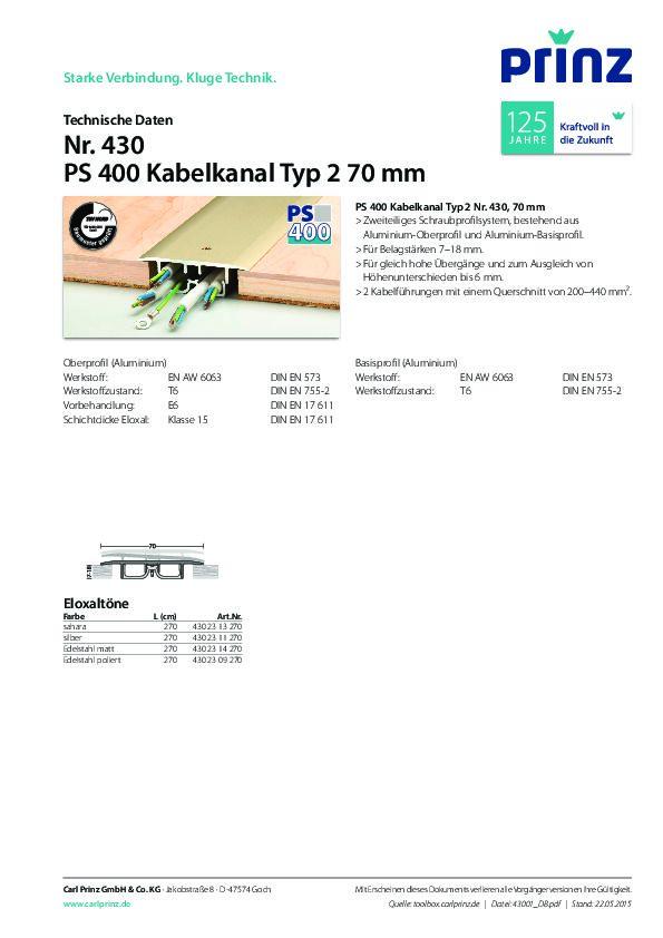 Technische Daten PDF 268 KB