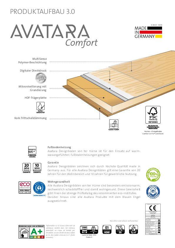 Datenblatt Avatara Comfort