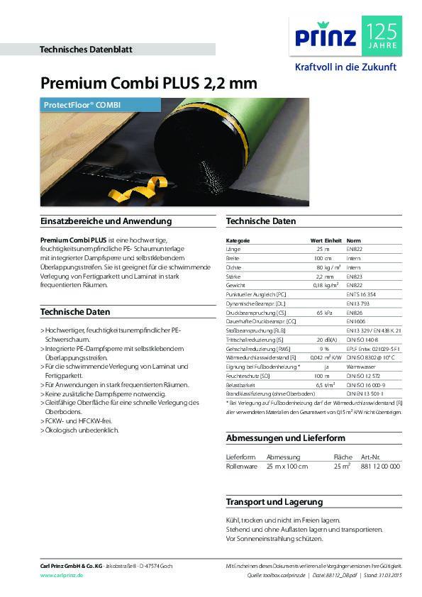Technische Daten PDF 520 KB