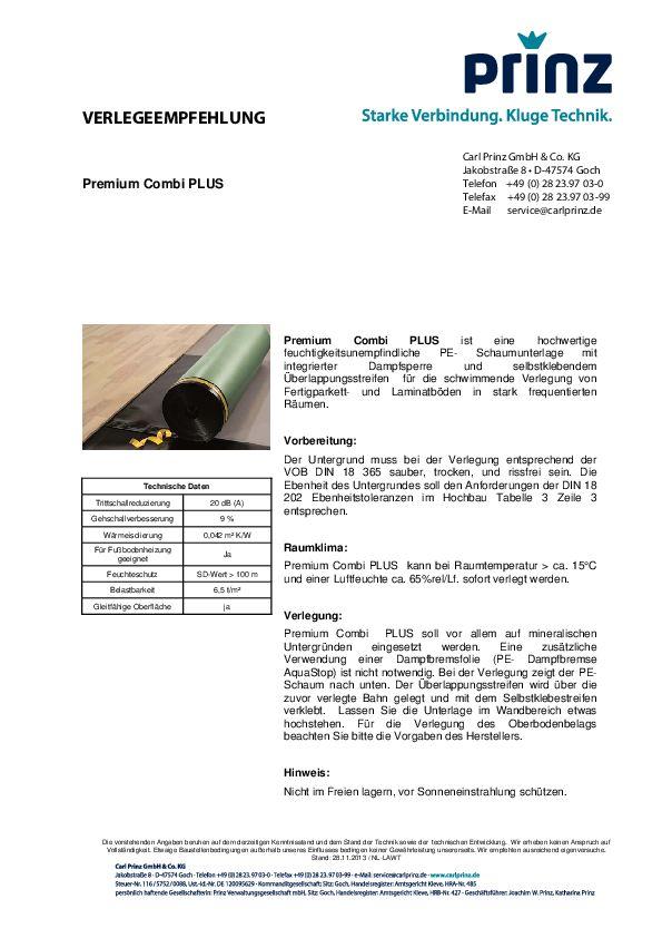 Verlegeempfehlung PDF 91,9 KB