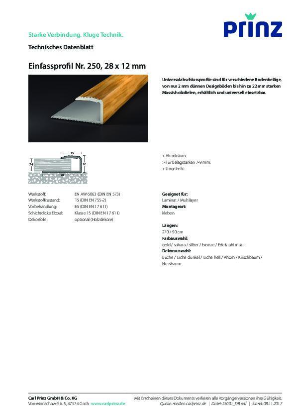 Technische Daten PDF