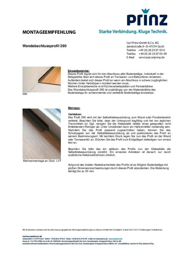 Montageempfehlung PDF 83,4 KB