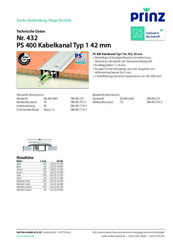 Technische Daten PDF 319 KB