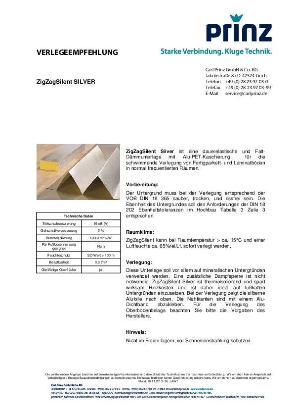 Verlegeempfehlung PDF 72,4 KB