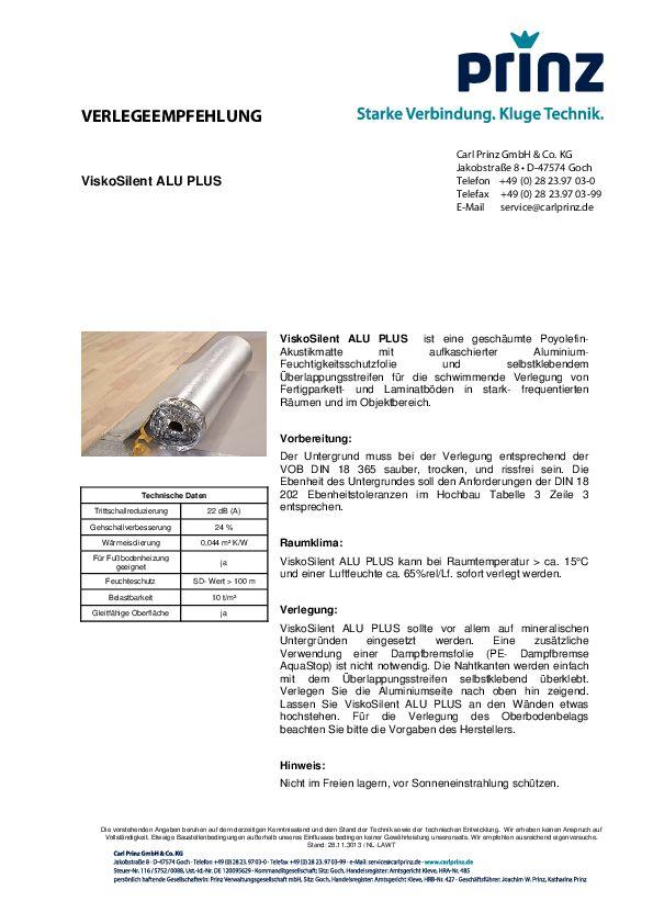 Verlegeempfehlung PDF 74 KB