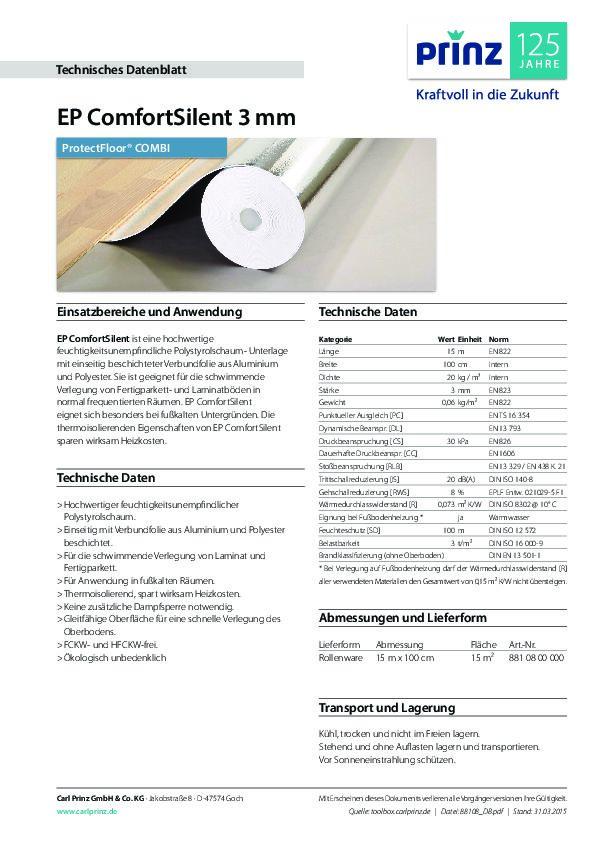 Technische Daten PDF 314 KB