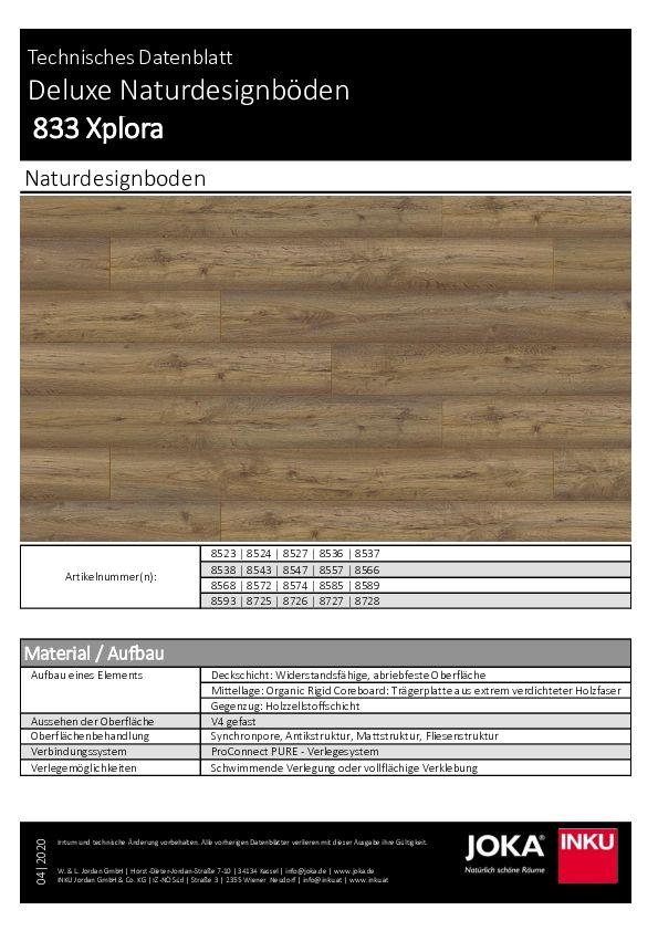 Datenblatt - Joka Naturdesignboden