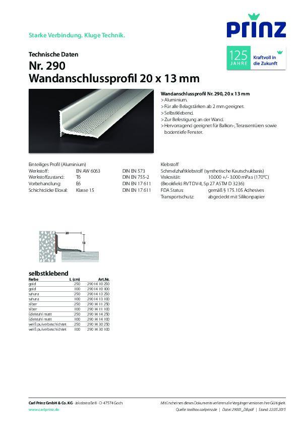 Technische Daten PDF 251 KB