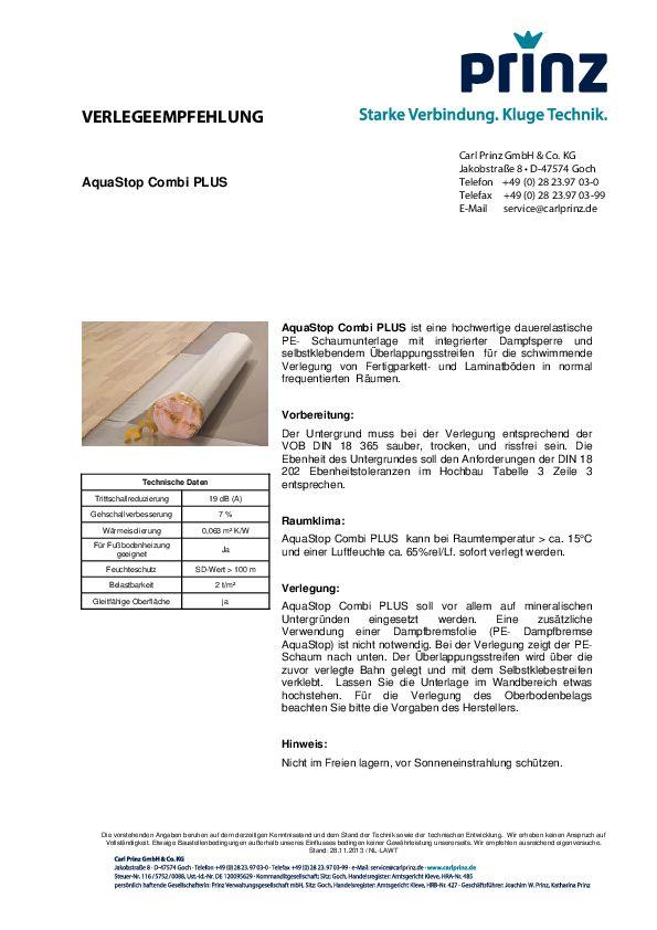 Verlegeempfehlung PDF 90,8 KB