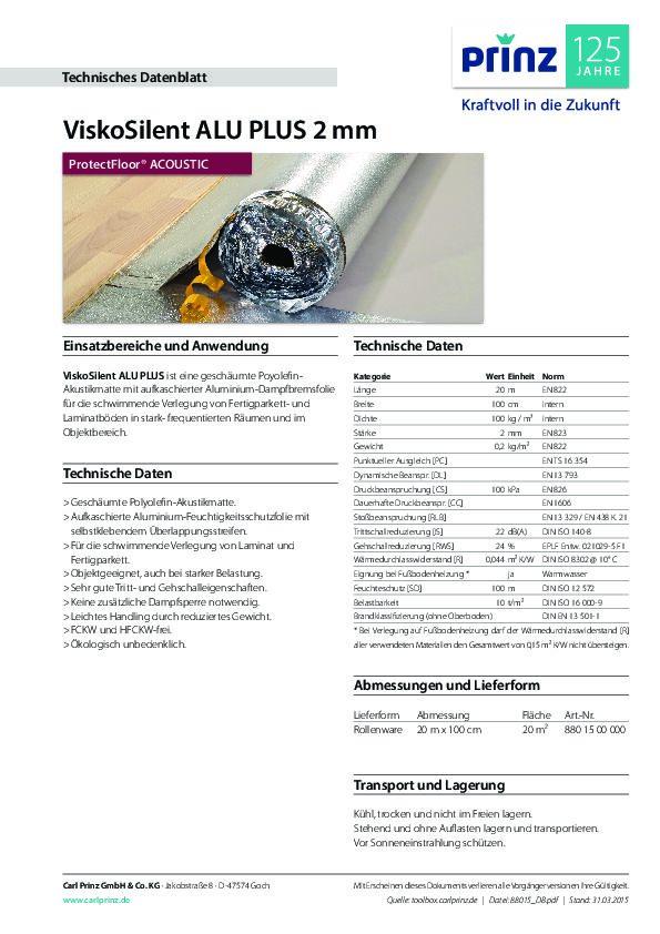 Technische Daten PDF 668 KB