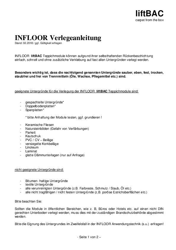 Verlegeanleitung PDF